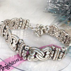 Brighton Manzanita Interlocking Hearts Bracelet